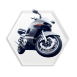 Motorcycle brake linings